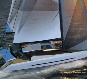 Latest 35m cruising catamaran SOLSTICE concept by Andrew Trujillo