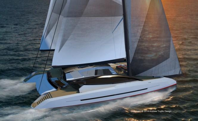 Latest 35m catamaran Solstice concept by Andrew Trujillo