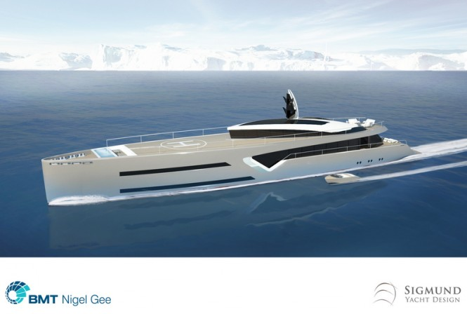 Latest 60m super yacht Excalibur concept unveiled by Sigmund Yacht Design