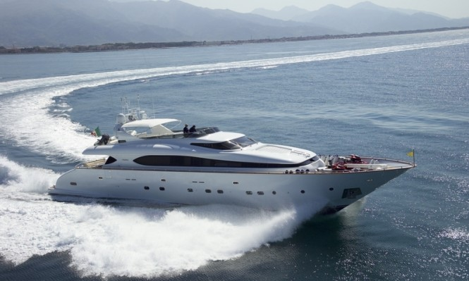 Luxury charter yacht Sea Jaguar
