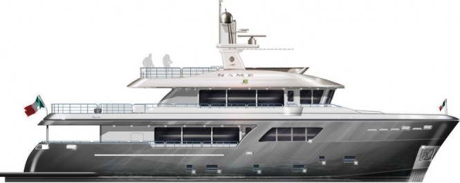 Luxury motor yacht Darwin Class 102' by Cantiere delle Marche