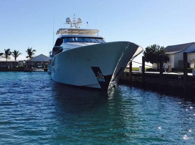 Luxury motor yacht Fugitive