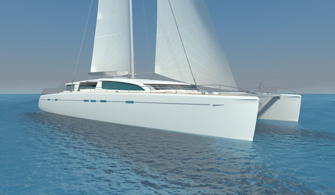 Luxury sailing yacht Sea-Voyager 83' concept
