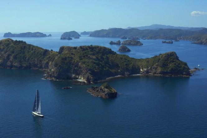 Luxury sailing yacht Silvertip - Great Barrier Island NZ