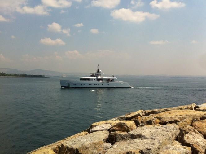 Luxury superyacht Alyssa by Tansu Yachts