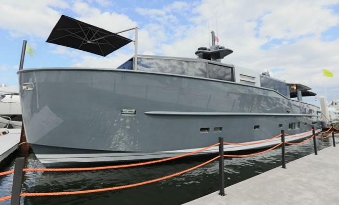 Luxury superyacht Arcadia 85 US Edition (hull #8)