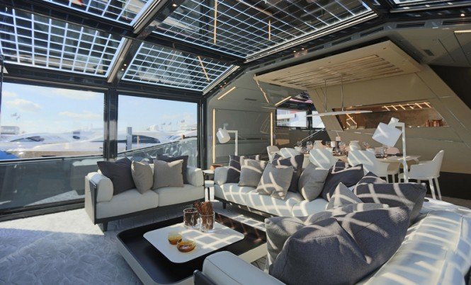Luxury yacht Arcadia 85 US Edition (hull #8) - Main Saloon