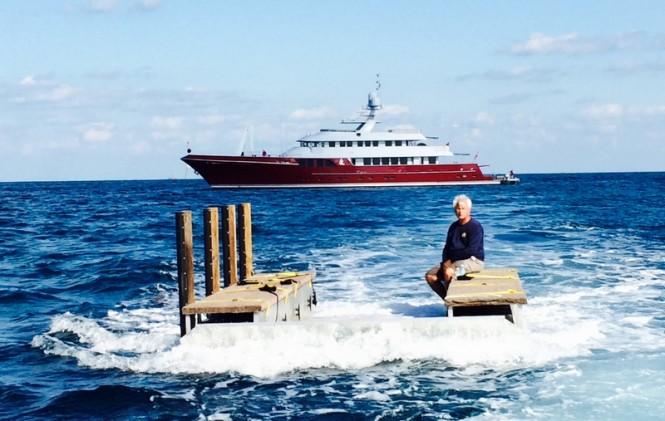 Luxury yacht Qing