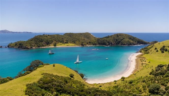 NZ Millennium Cup 2015 to be hosted by the beautiful Bay of Islands yacht holiday destination, nestled in New Zealand