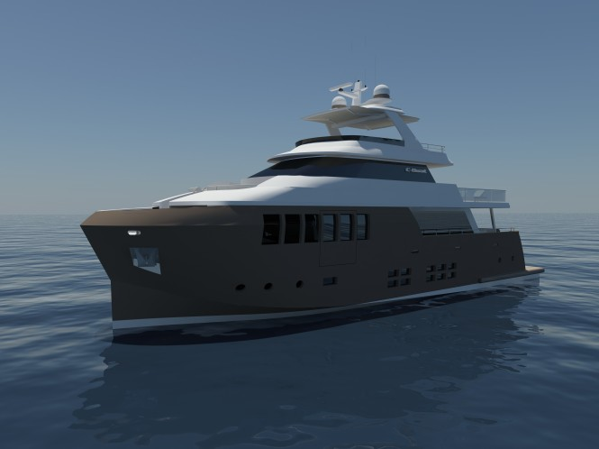 New 31m steel superyacht 31 Explorer by C.Boat