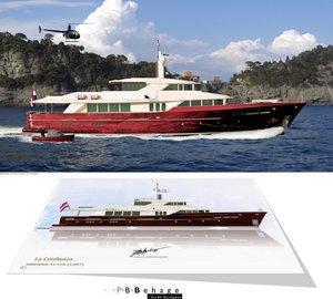 New 41,41m Explorer Motor Yacht LA CONFIANZA concept by P.B. Behage