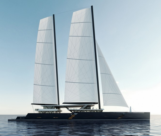 New 68m catamaran SV223' concept by Sea Voyager
