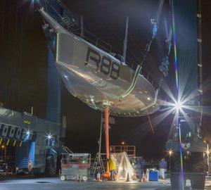 Launch of sailing yacht Rambler 88
