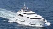 Newly refitted 34m Moonen super yacht Azul A (ex Xanadu, Bonita J)