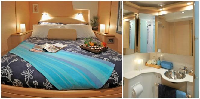 OMBRE BLU yacht - Accommodation