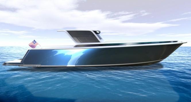Peconic 43 luxury yacht tender concept