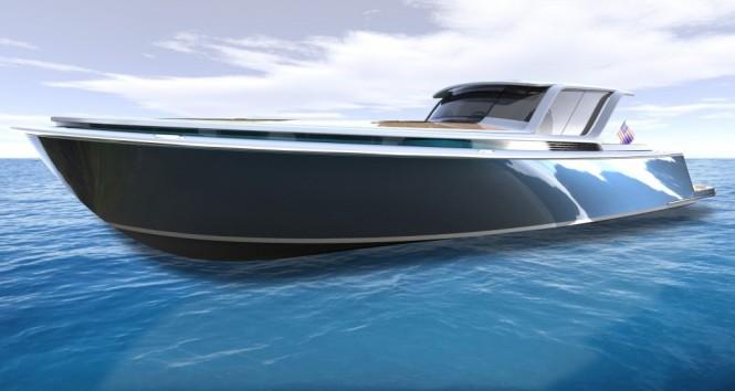 Peconic 43 superyacht tender concept