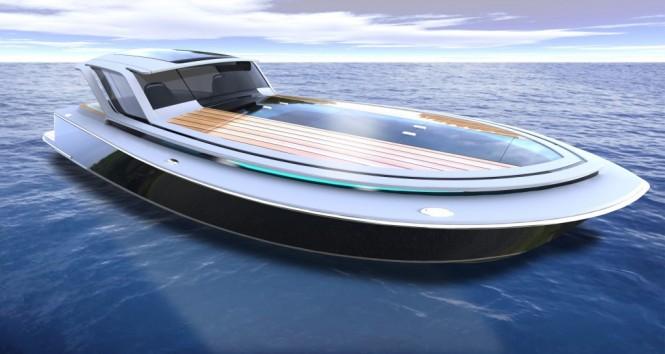 Peconic 43 yacht tender concept