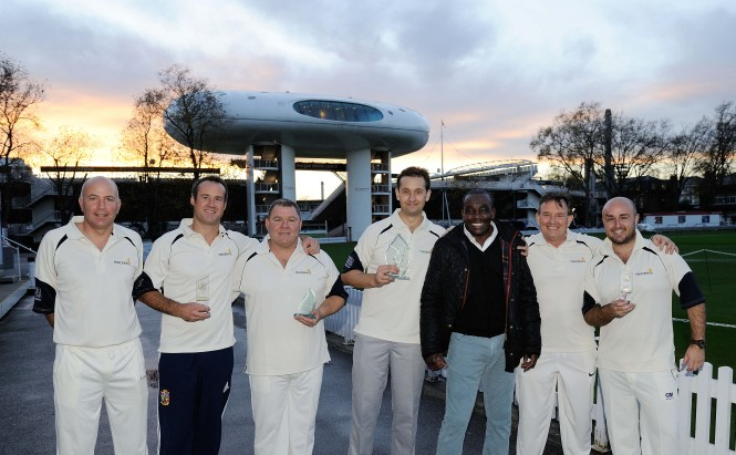 Superyacht cricket match at Lord's Cricket Ground