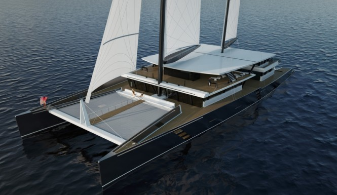 SV223' Yacht Concept from above
