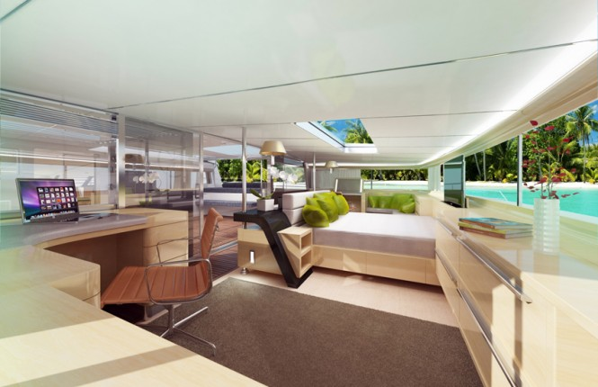 SV83' Yacht Concept - Owners Cabin