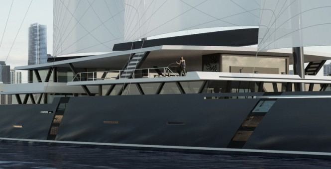 Sea Voyager luxury yacht SV223' concept