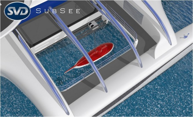 Subsee yacht concept - A fully integrated lifting system
