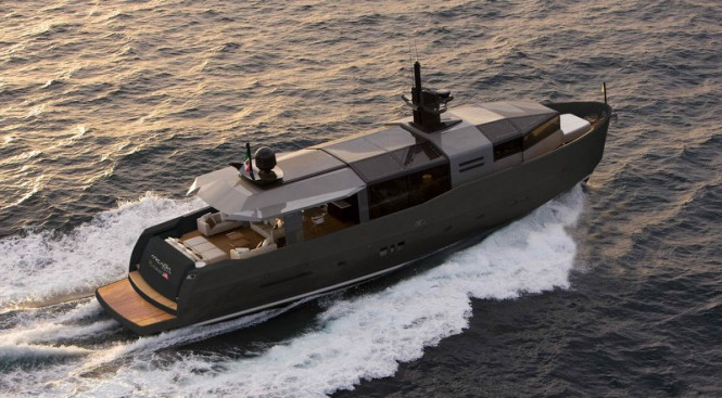 Super yacht Arcadia 85 US Edition (hull #8) by Arcadia Yachts