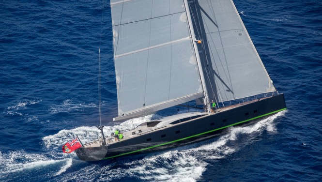 "Baltic 108 Yacht ""WinWin"" - Photo by Jesus Renedo"