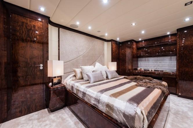 Superyacht Ornella - Master Cabin