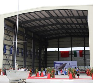 The opening ceremony of Visun Tuscany Yacht Repair and Refit Service Center