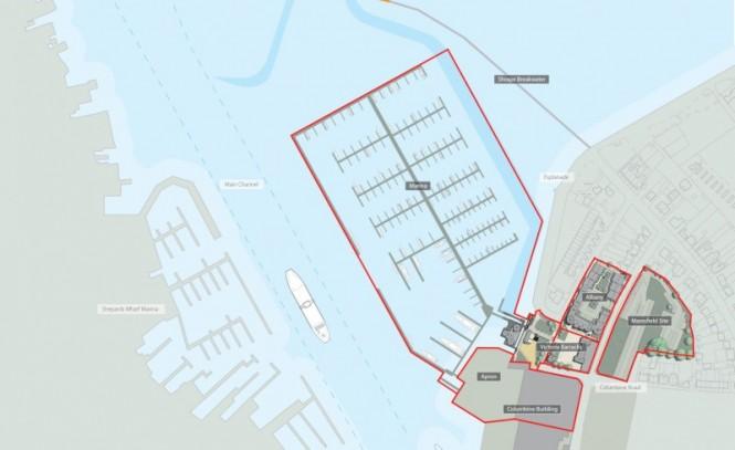 Victoria Marina - Plan