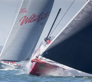 Rolex Sydney Hobart Yacht Race 2014: The leading yachts approaching halfway mark