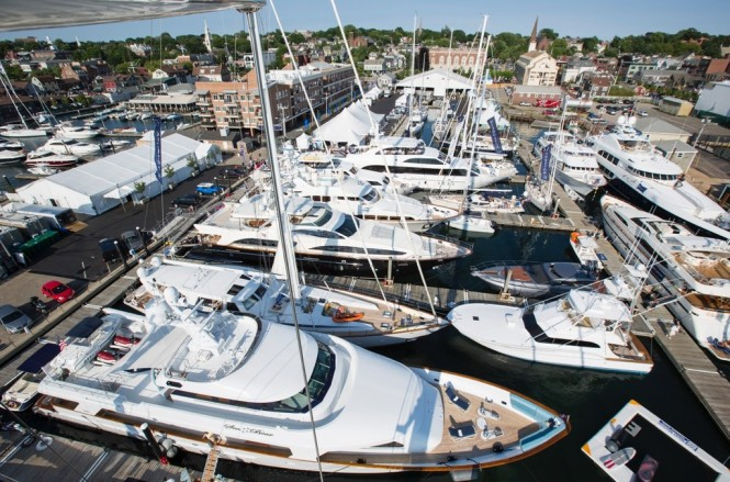 2014 Newport Charter Yacht Show - Photo credit to Billy Black