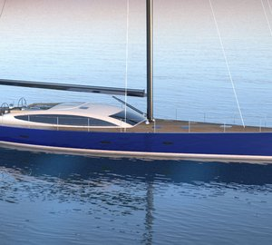 Adam Voorhees announces contract and refit design for 26m fast sailing yacht SAPPHIRE KNIGHT project
