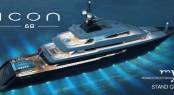 68m mega yacht ICON