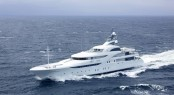 82m mega yacht Graceful by Blohm+Voss - Repair Lille Belt Denmark