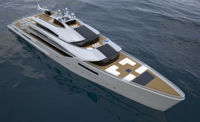 90m Nobiskrug super yacht concept by Impossible Productions Ink LLC