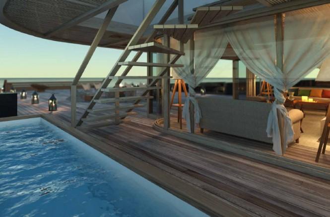Aboard X-Ballet superyacht concept