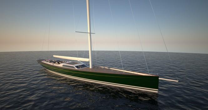 Baltic 175 super yacht Pink Gin VI