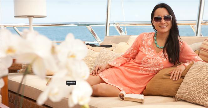Belle Aimee superyacht - Bridge Deck