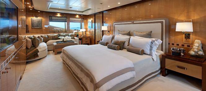 Belle Aimee yacht - Owner suite