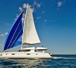 Caribbean catamaran vacation charter yacht LIR's huge success at Antigua Charter Yacht Show