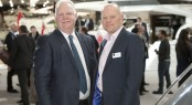 Chris Gates, Managing Director of Princess Yachts International and Murray Ellis, Managing Director of National Boat Shows