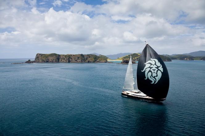 Day One winner superyacht Silencio – credit Jeff Brown
