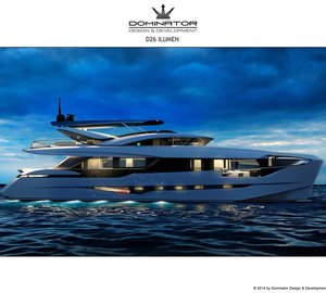 Dominator motor yacht Ilumen to be brought to life by virtual reality at Dusseldorf Boat Show 2015