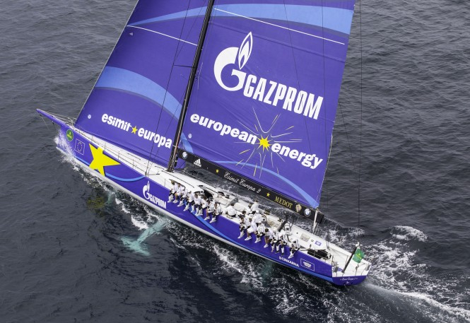 Esimit Europa 2 superyacht at the 2014 Rolex Capri Sailing Week - Photo by Francesco Ferri