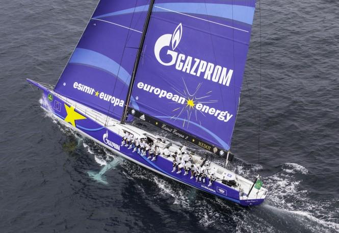Esimit Europa 2 superyacht at the 2014 Rolex Capri Sailing Week - Photo by Francesco Ferri