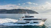 Ferretti Custom Line super yacht Navetta 28 fitted with VOTIS entertainment system by Videoworks