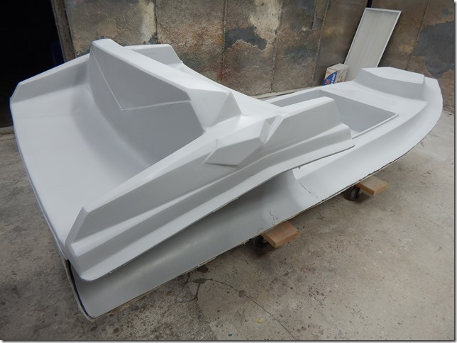 First Ribjet 10 yacht tender by Ribjet USA in production